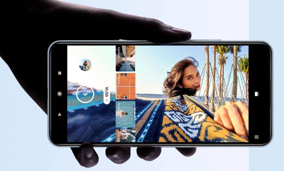 Xiaomi 11 lite Vlog modes