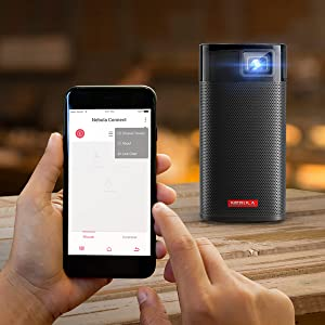 Anker Nebula Apollo Projector all from the app