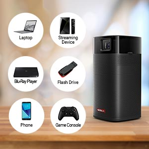 Anker Nebula Apollo Projector multiple Connections