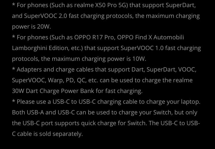 Realme 30w charge powerbank price