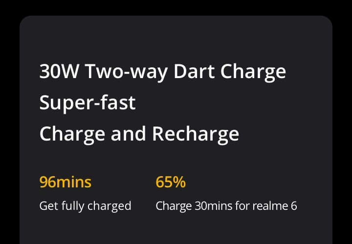 Realme 30w charge powerbank prices