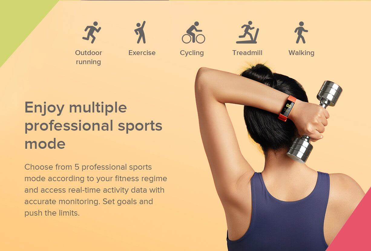 fitness band india