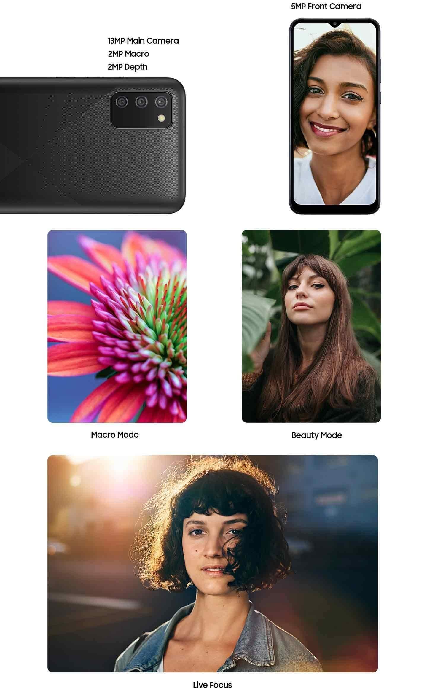 Samsung Galaxy M02s camera