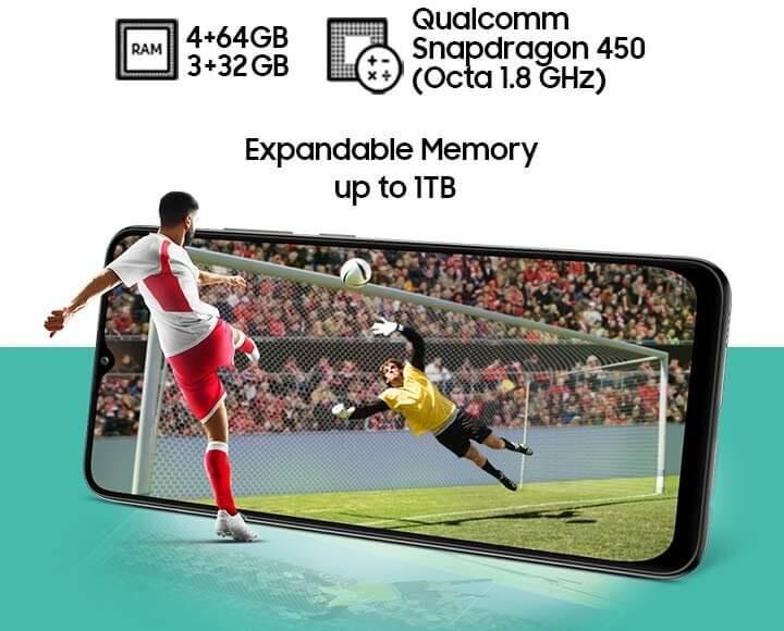 Samsung Galaxy M02s gaming