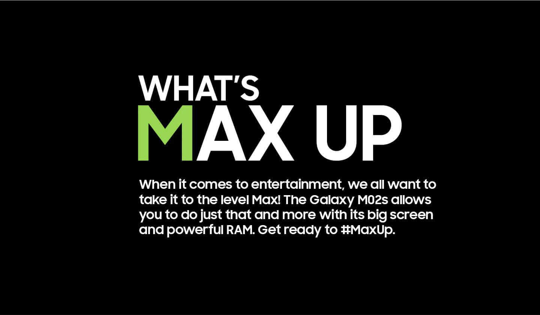 Samsung Galaxy M02s max