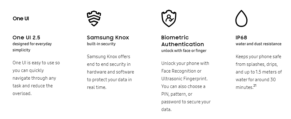 galaxy Note 20 ultra features