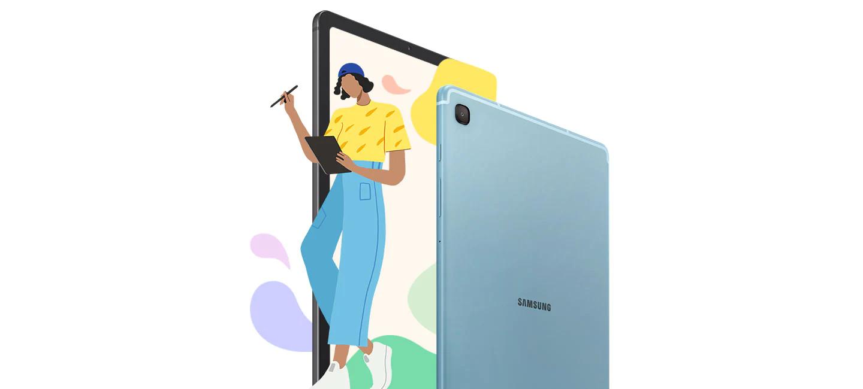 Samsung Galaxy S6 Lite Tab immerssive screen