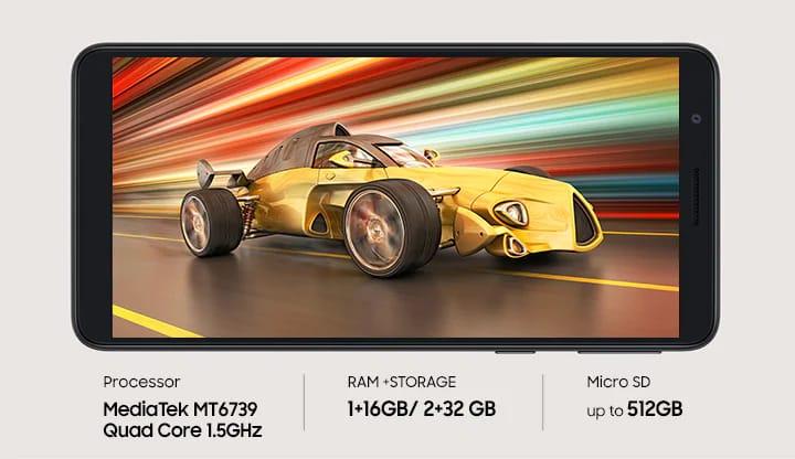 Samsung galaxy M01 mobile price