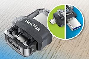 Sandisk Dual Drive-3 Micro USB