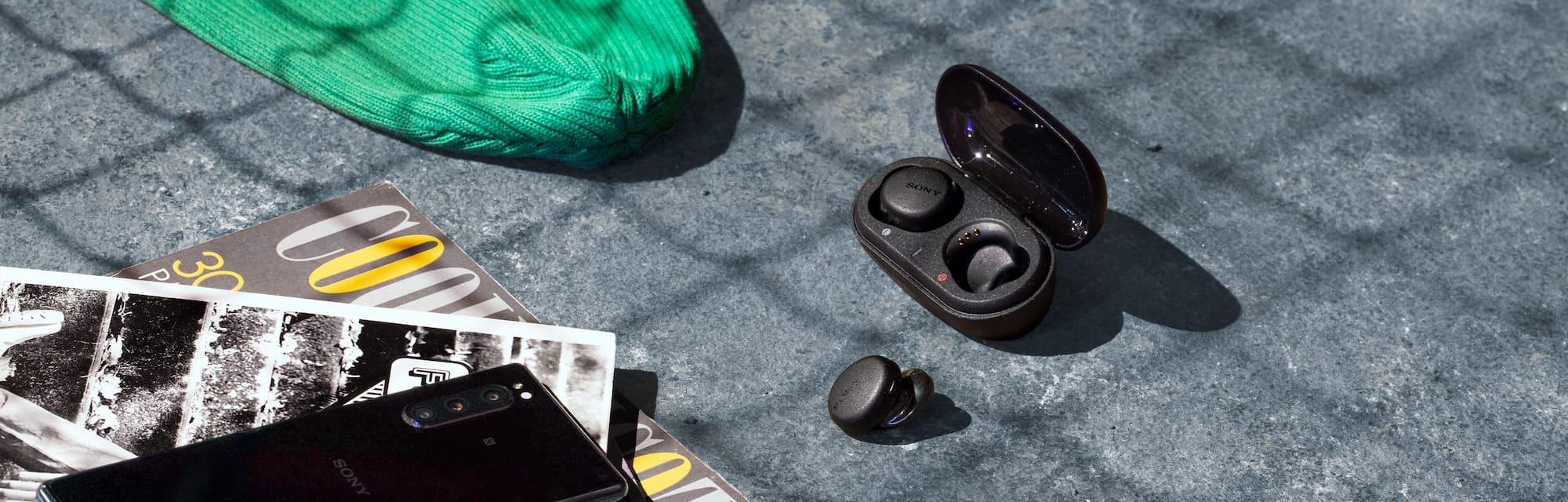 Sony WF-XB700 bluetooth earphones