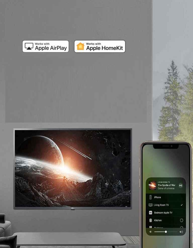 LG Smart LED TV Live