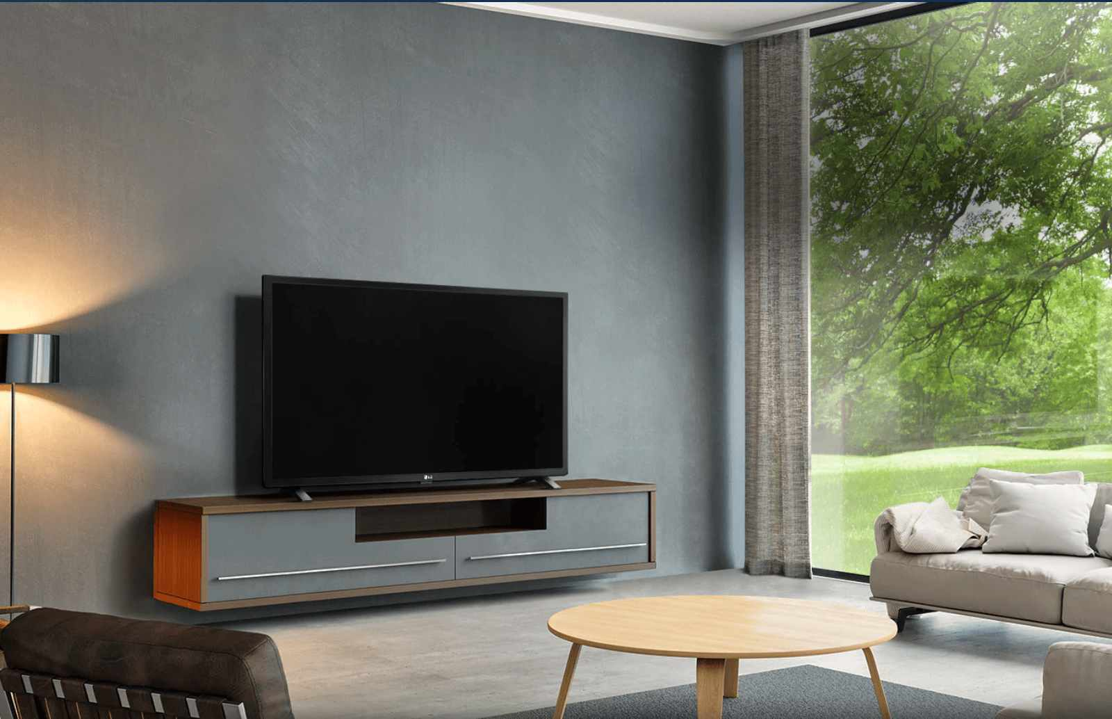 LG Smart LED TV design
