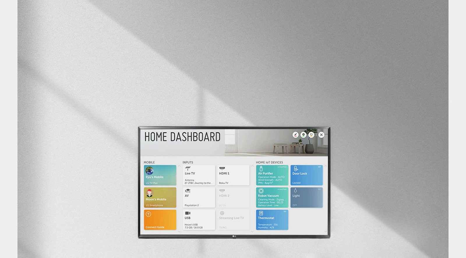 TV HD Home Dashboard Desktop v21