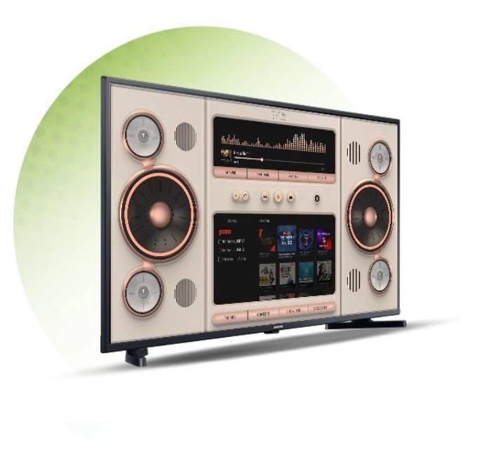 Samsung LED Smart tv Music System