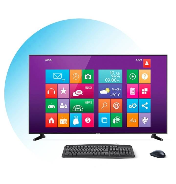 Samsung LED Smart tv Personal Computer