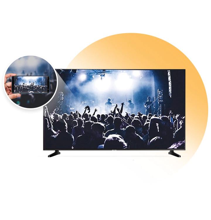 Samsung LED Smart tv Live Cast