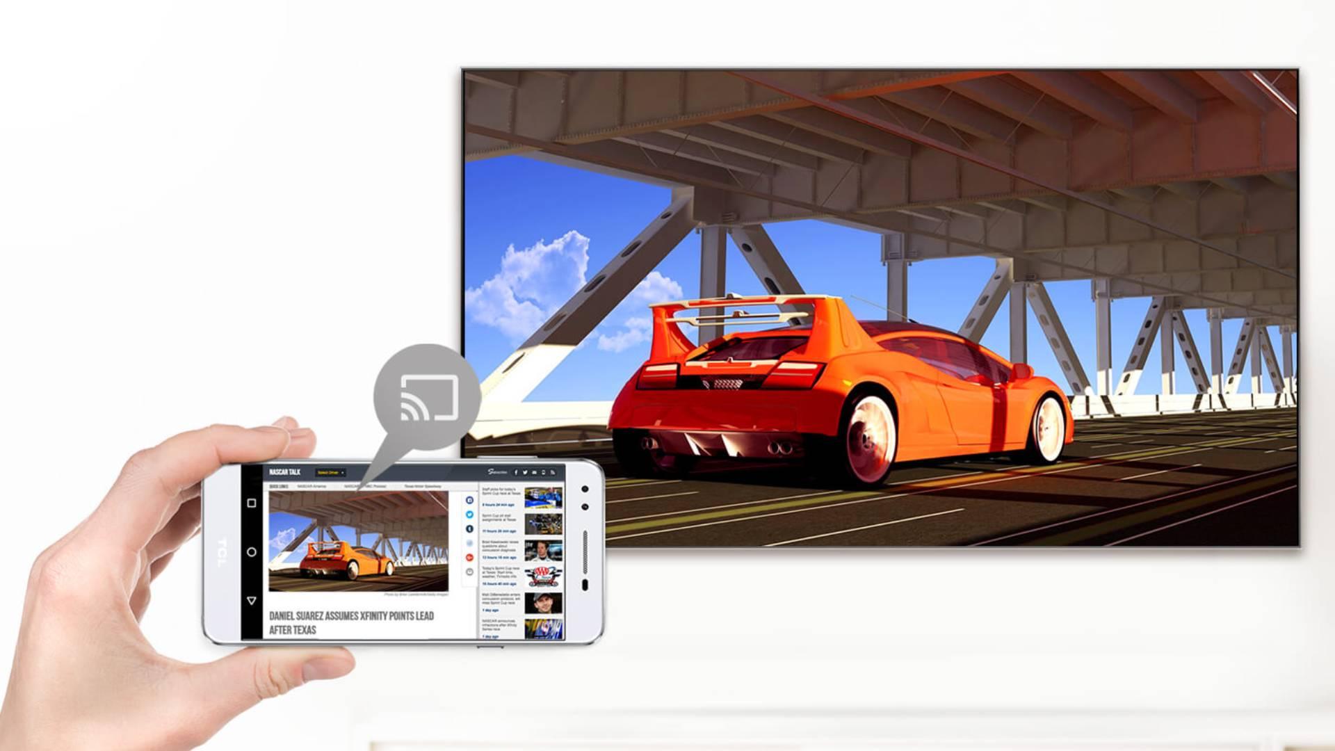 TCL LED Smart TV Chromecast