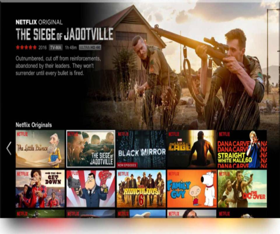 TCL LED Smart TV Netflix