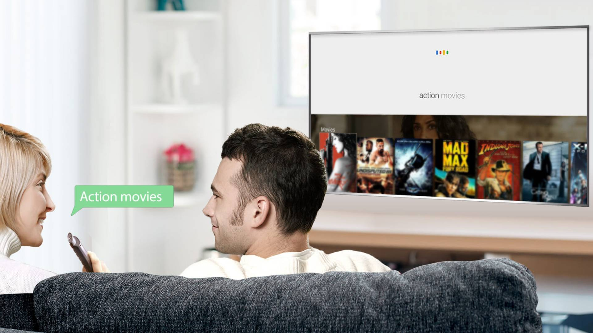 TCL LED Smart TV Voice Search