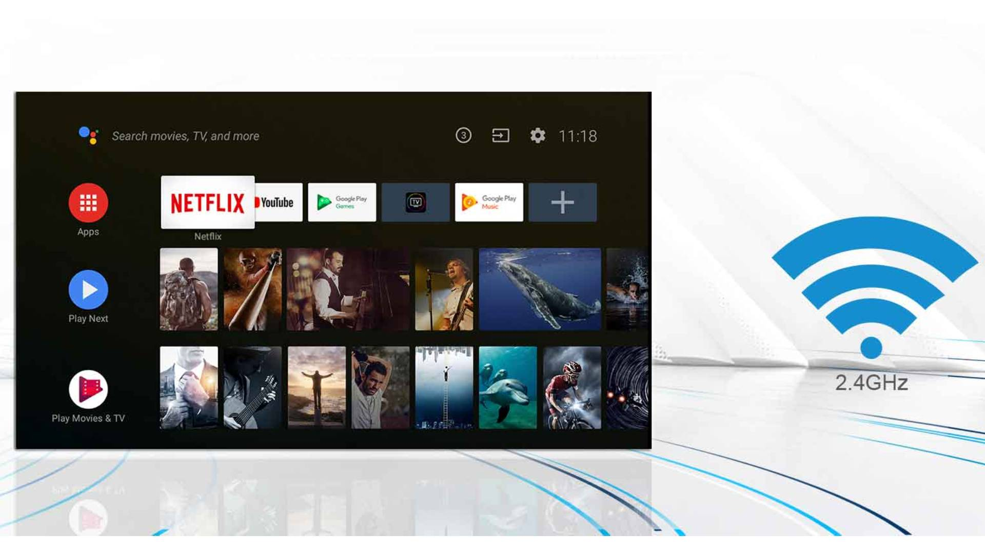 TCL LED Smart TV Wi-Fi