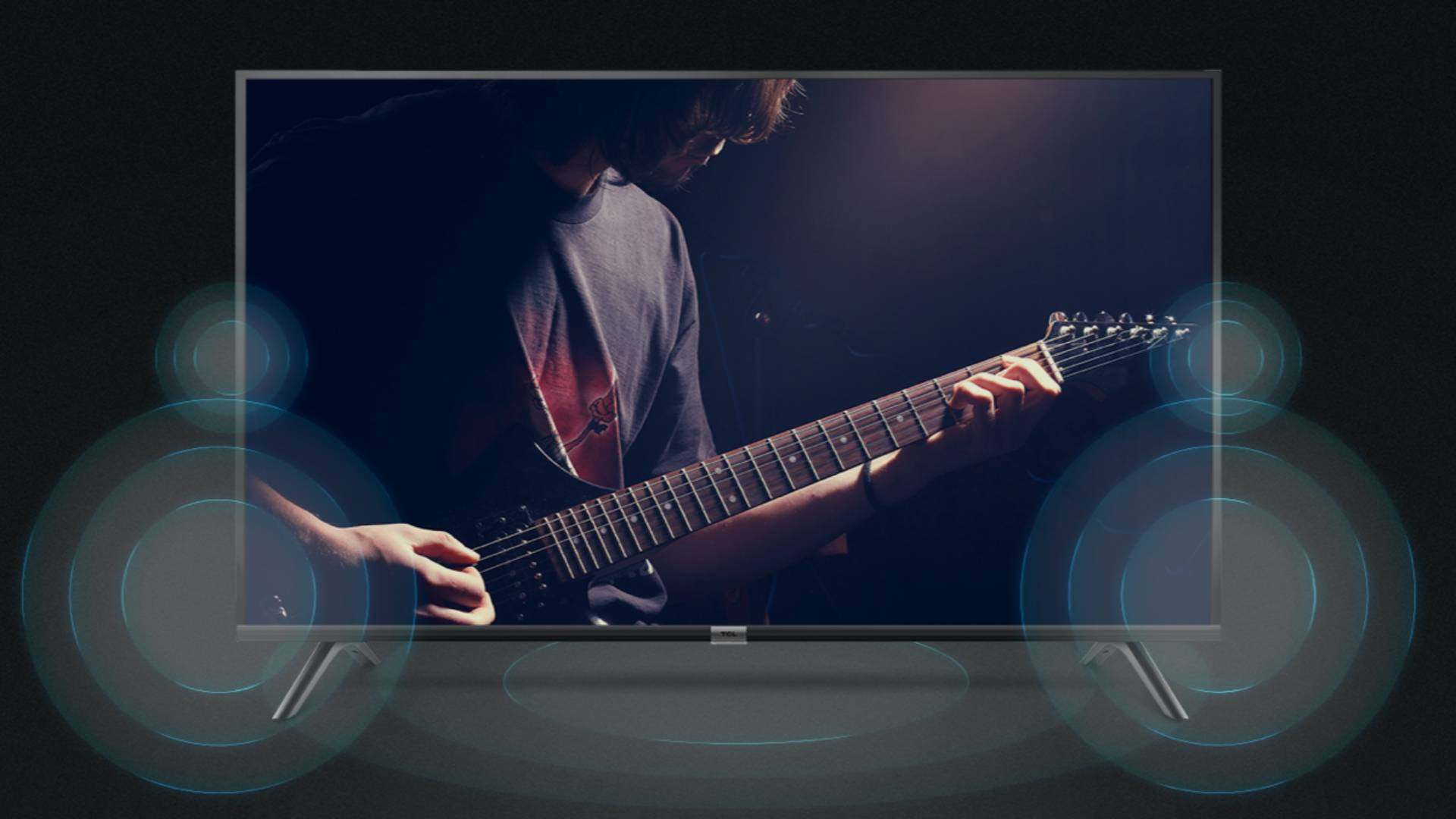 TCL Smart LED TV Dolby Audio