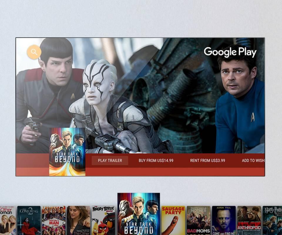 TCL Smart LED TV Google Paly Movie