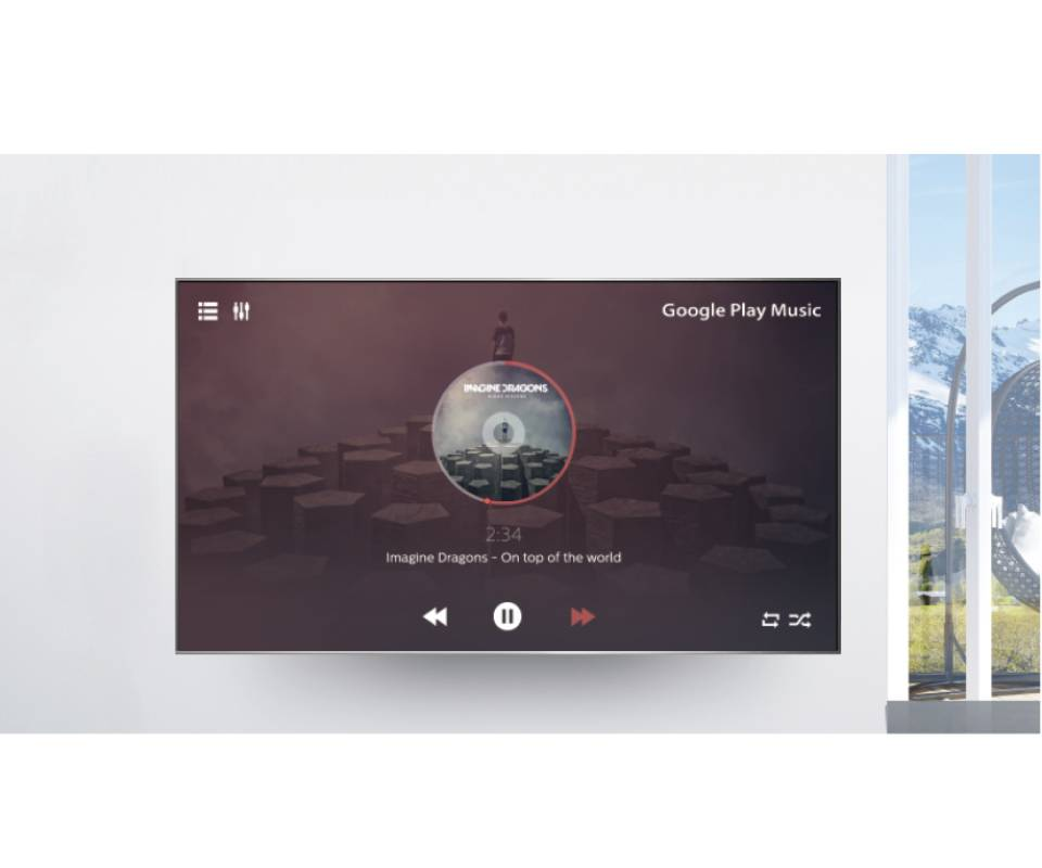 TCL Smart LED TV Google Play Music
