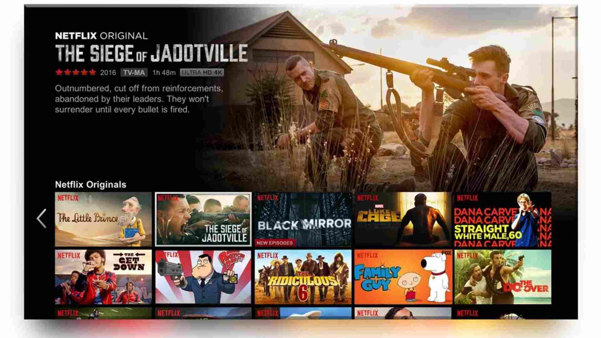 TCL Smart LED TV Netflix