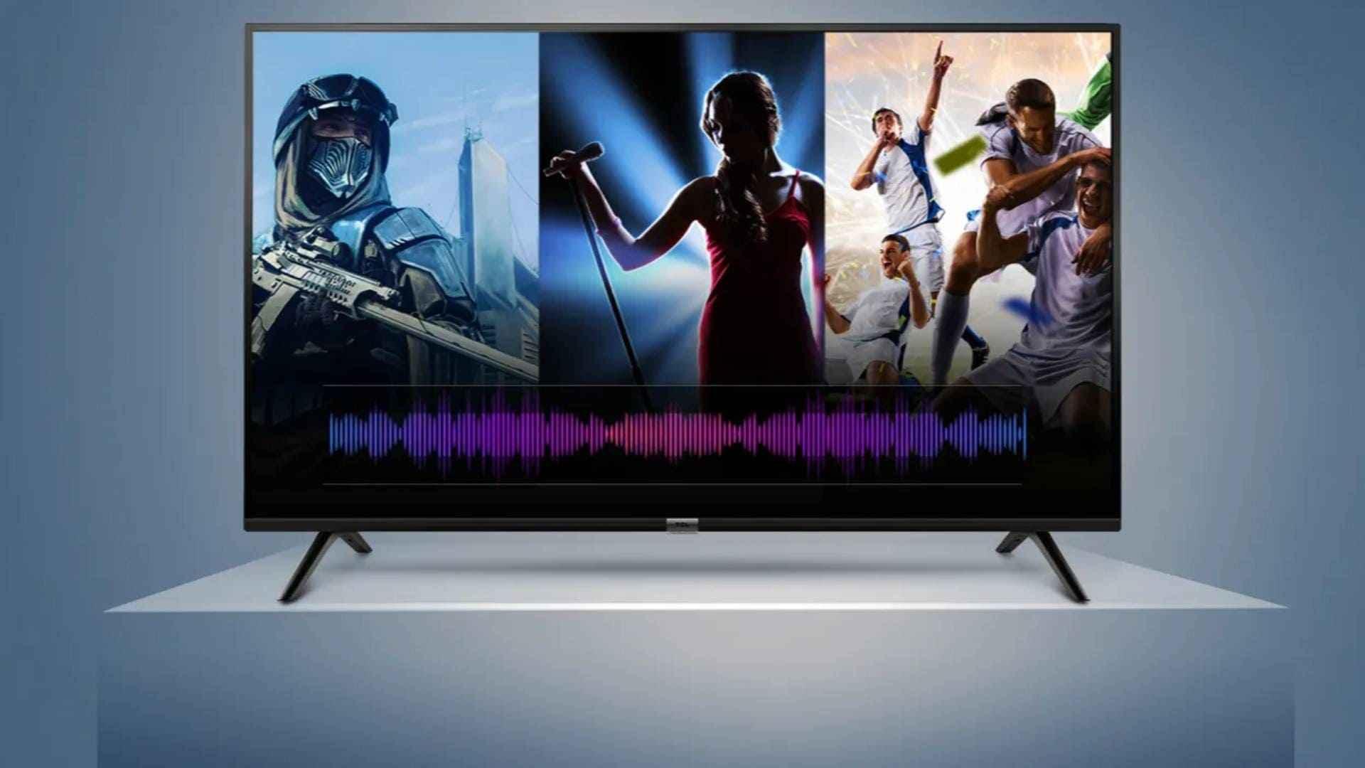 TCL Smart LED TV Smart Volume