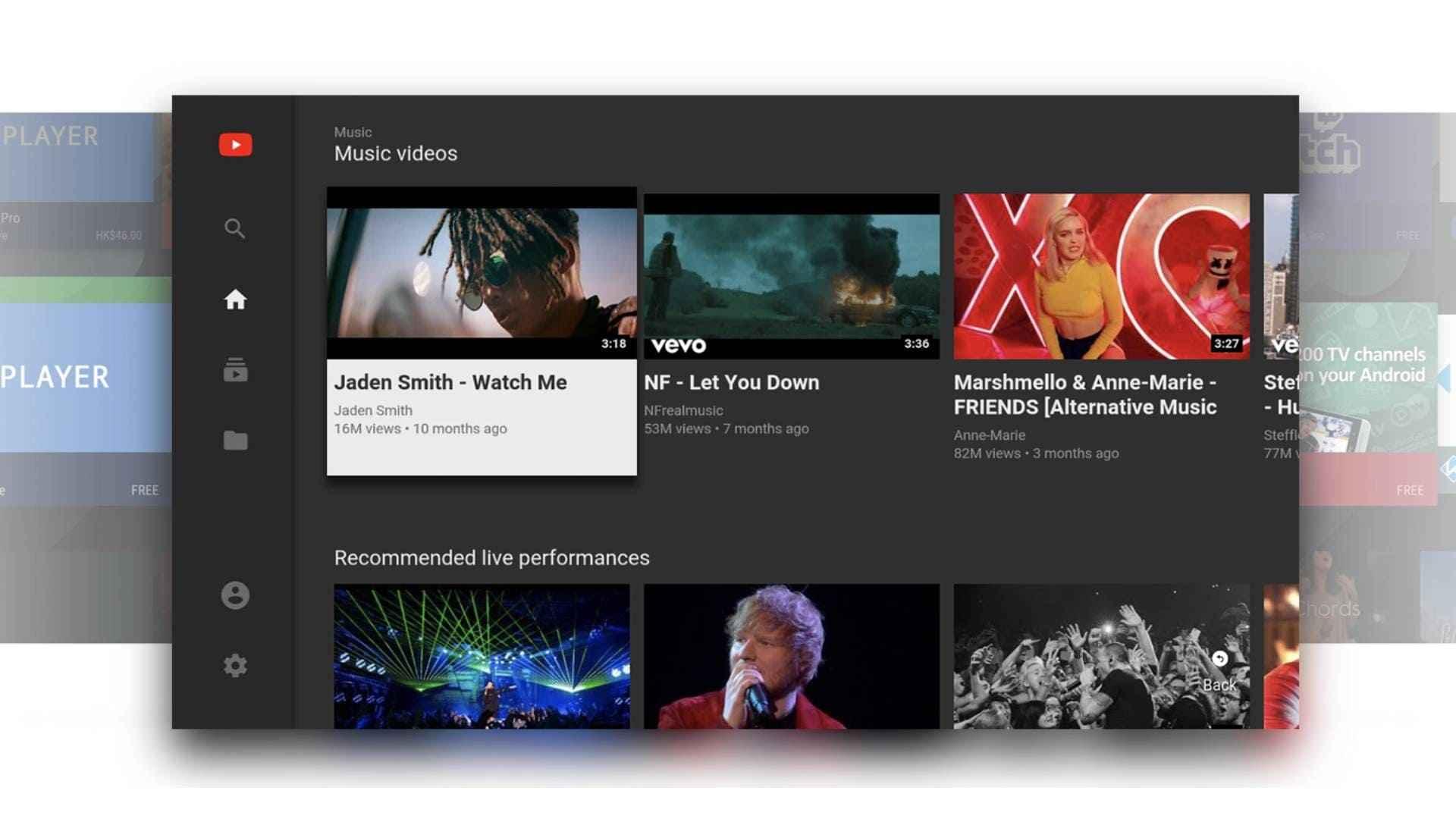 TCL Smart LED TV Youtube