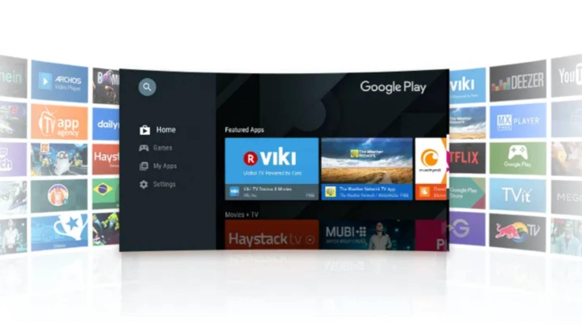 TCL Smart LED TV google play