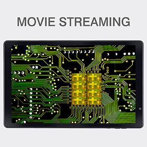 iBall iTAB MovieZ Pro movie streaming