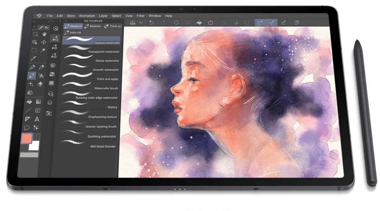 Galaxy Tab Clip Studio Paint